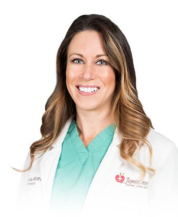 Image of JRMC Orthopedic Nurse Practitioner, Crystal Krapp.