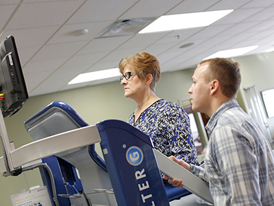 sports-ALTER-G antigravity treadmill Jamestown Regional Medical Center