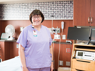 Deb Thingstad, JRMC registered nurse