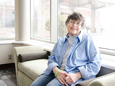 One retired nurse chose JRMC because of its low rate of infections. Donna worked as a nurse for 40 years because she loved caring for people.