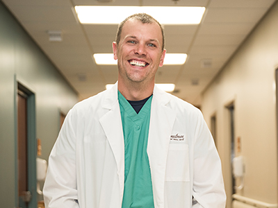 Image of JRMC Emergency Medicine Physician, Dr. Steve Inglish.