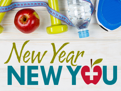 JRMC New Year, New You 2019 wellness challenge begins Jan. 6. Registration ends Friday, Dec. 28.
