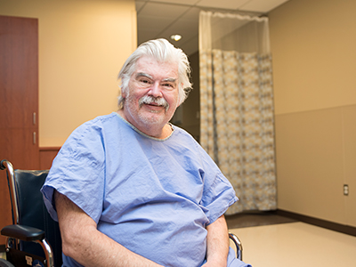 Willie Hyde, JRMC Wound Care patient