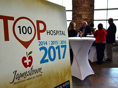 JRMC displays TOP 100 hospitals at Annual Meeting
