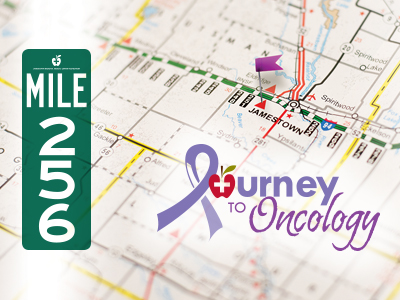 JRMC Journey to Mile Mark 256: a Private Debute, is a cancer center fundraiser.