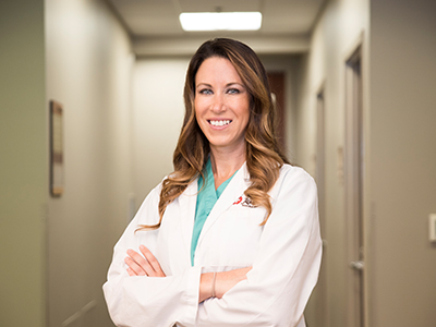 Image of Crystal Krapp, APRN, DNP-C, the newest addition to the JRMC orthopedics team.