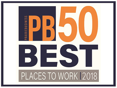 "JRMC was awarded with Prairie Business Magazine's ""50 Best Places to Work in 2018"" list."