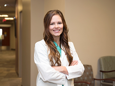 American Board of Wound Management, ABWM, recognized Dr. Kayla Emter, JRMC Podiatrist/Foot & Ankle Surgeon, as a certified wound specialist physician, CWSP.