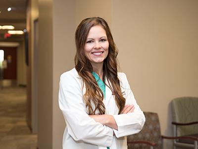 Image of Dr. Kayla Emter, JRMC Podiatrist/Foot & Ankle Surgeon. Dr. Emter will begin taking patients in November 2018.