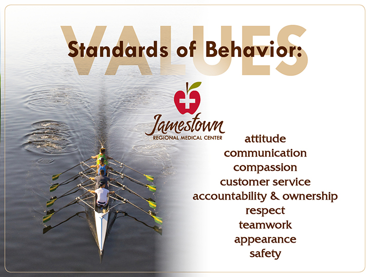 JRMC Values Standards of Behavior