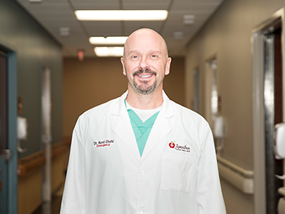 Image. JRMC welcomes Dr. Kent Diehl to its Emergency Department team as the newest Emergency Department Physician.