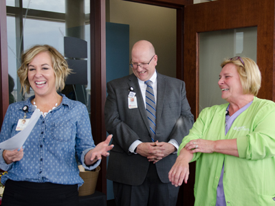 Image of Marla Wegner, JRMC nurse who received Nora Paulson Award