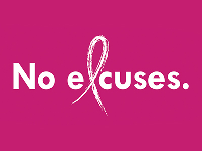 JRMC to hold No Excuses event for mammograms and pap smears on October 23 and 24, 2018.