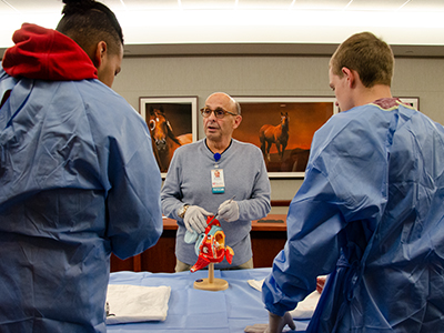 JRMC held its annual Scrubs Academy for area high school students May 9 and 10.