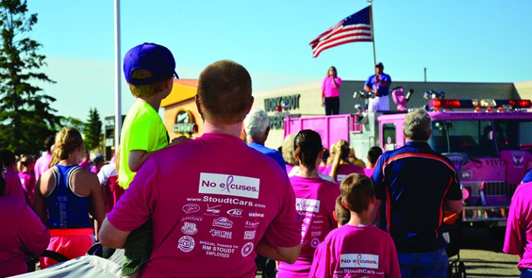 JRMC Running of the Pink, 2018