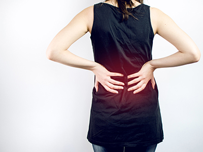 Image. Suffering from back pain? It might be your kidneys.