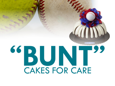 "The JRMC Foundation and members of the Jamestown Outlaws, girls fast-pitch softball players ages 8-18, are selling ""bunt"" cakes in support of athletic equipment at Jamestown High School."