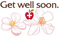 Get well soon. (BLOSSOMS)