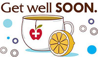 Get well SOON. (tea)