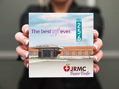 JRMC Cancer Center received a $500,000 gift from the The Leona M. and Harry B. Helmsley Charitable Trust.