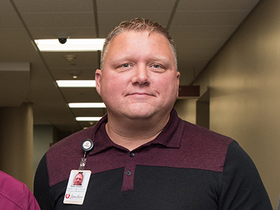JRMC Support Services manager and emergency preparedness manager, Dane Grebel, recently completed training offered by the Center for Domestic Preparedness.