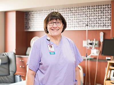 The North Dakota Center for Nursing Excellence recognized JRMC Family BirthPlace Registered Nurse, Deb Thingstad, for her work teaching nursing students.