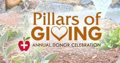Pillars of Giving @ JRMC Apple Basket Cafe Patio | Jamestown | North Dakota | United States