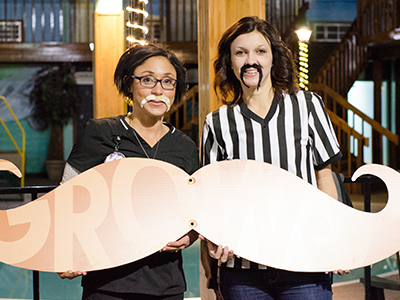 JRMC held its annual #GROWvember 'Stache Bash event to raise awareness for men's health.