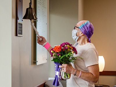 Diane Feist, Edgeley, N.D., dealt with a pandemic and a cancer diagnosis, all in the same six months after being diagnosed at JRMC in March.