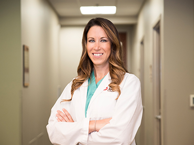 Meet Jamestown native, Crystal Krapp, APRN, DNP-C. Krapp is a doctorate nurse practitioner that works Dr. Volk in the clinic and surgery. She joined the team in 2018.