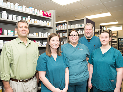 JRMC's Pharmacy Department received the North Dakota Society of Health-System Pharmacist's Excellence in Medication Use Safety Award.