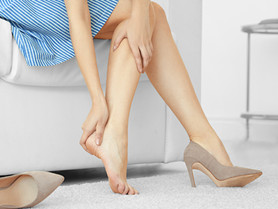 JRMC Podiatrist/Foot & Ankle Surgeon, Dr. Kayla Emter shares why cracked, dry heels can be more than unsightly and why they shouldn't be ignored.