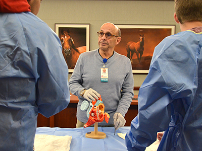 Scrubs Academy at JRMC offers hands-on learning for high school juniors and seniors interested in healthcare careers.