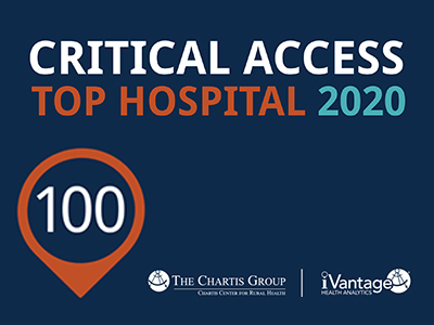 For the seventh year in a row, Jamestown Regional Medical Center is a Top 100 Critical Access Hospital in the country, said President & CEO Mike Delfs.