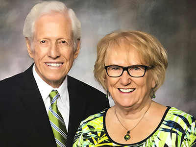 Reuben and Clarice M. Liechty donated $100,000 to the JRMC Cancer Center in February 2019.